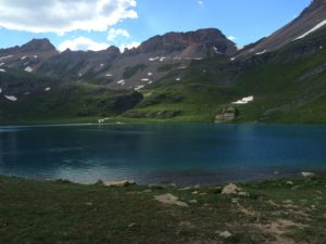 Glacier Lake in Colorado